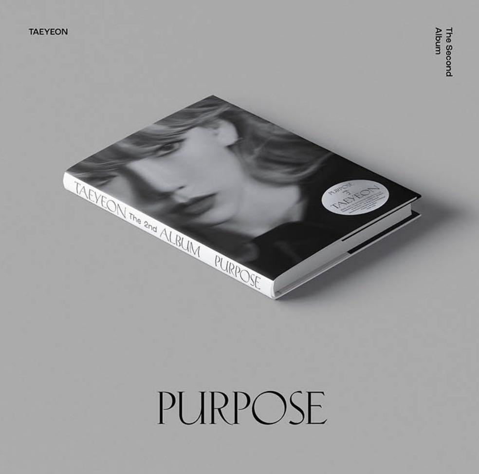 GIRLS' GENERATION✨TAEYEON✨ VOL.2 [PURPOSE] - RANDOM VER. OFFICIALLY FACTORY SEALED FULL PACKAGE  ALBUM