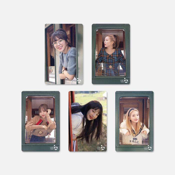 [GO] Red Velvet Transportation Card / Cashbee card