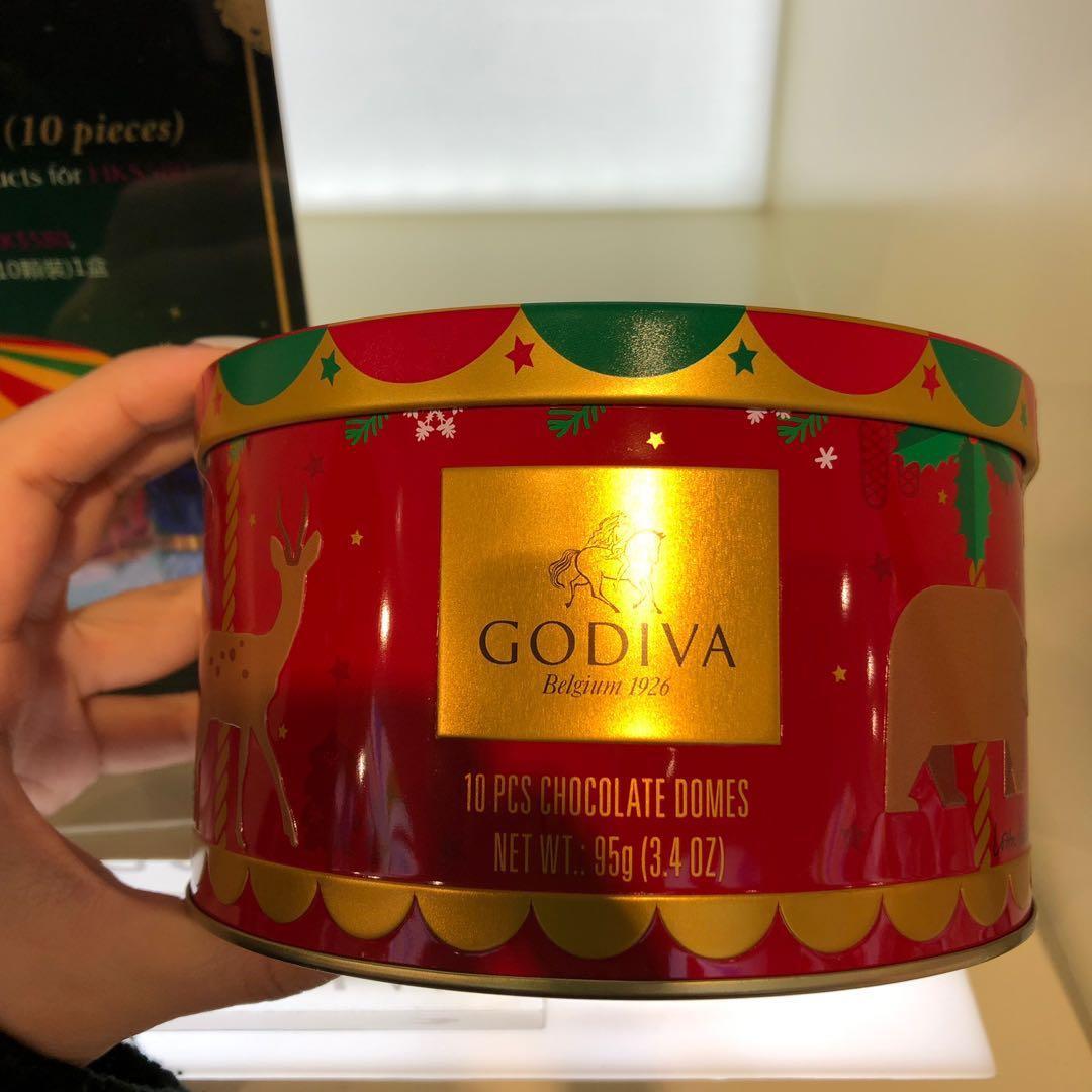 Godiva 2019年版聖誕倒數日曆 Christmas Advent Calendar 24pcs 聖誕禮品 派對專品