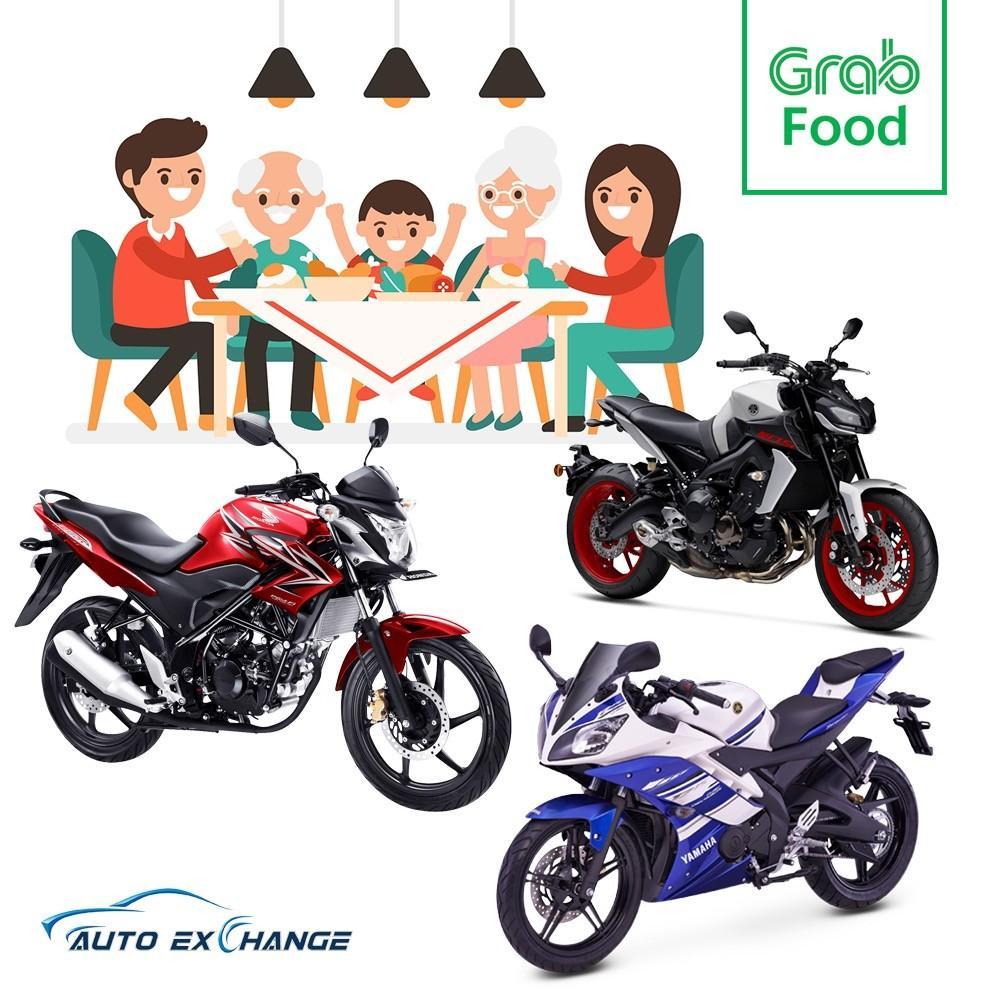 GrabFood Motorbike Rentals