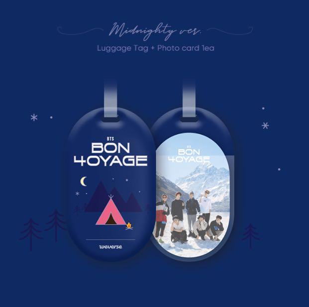 [🇲🇾GROUP ORDER] BTS BON VOYAGE Season 4 MERCH  (RANDOM 1EA)