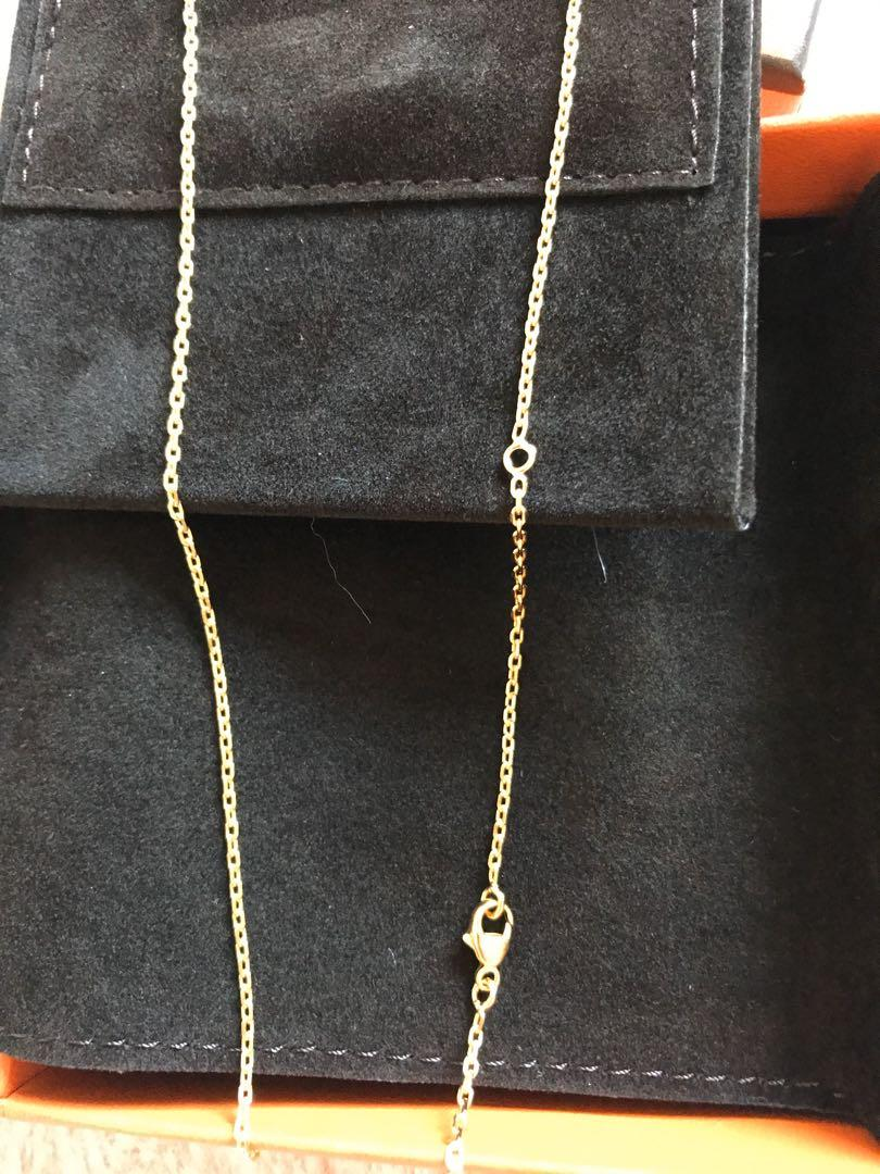 Hermes O'Kelly pendant with necklace Brand New