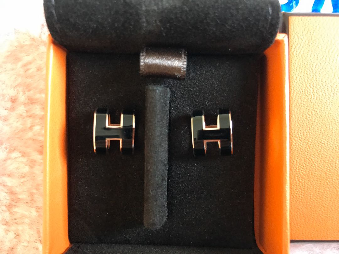Hermes Pop H earrings Brand New