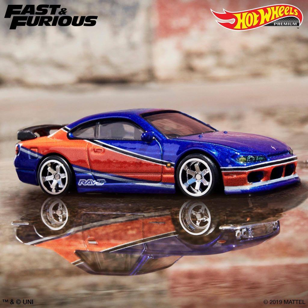 Hot Wheels Fast Furious Mona Lisa Nissan Silvia S15 Toys Games Bricks Figurines On Carousell
