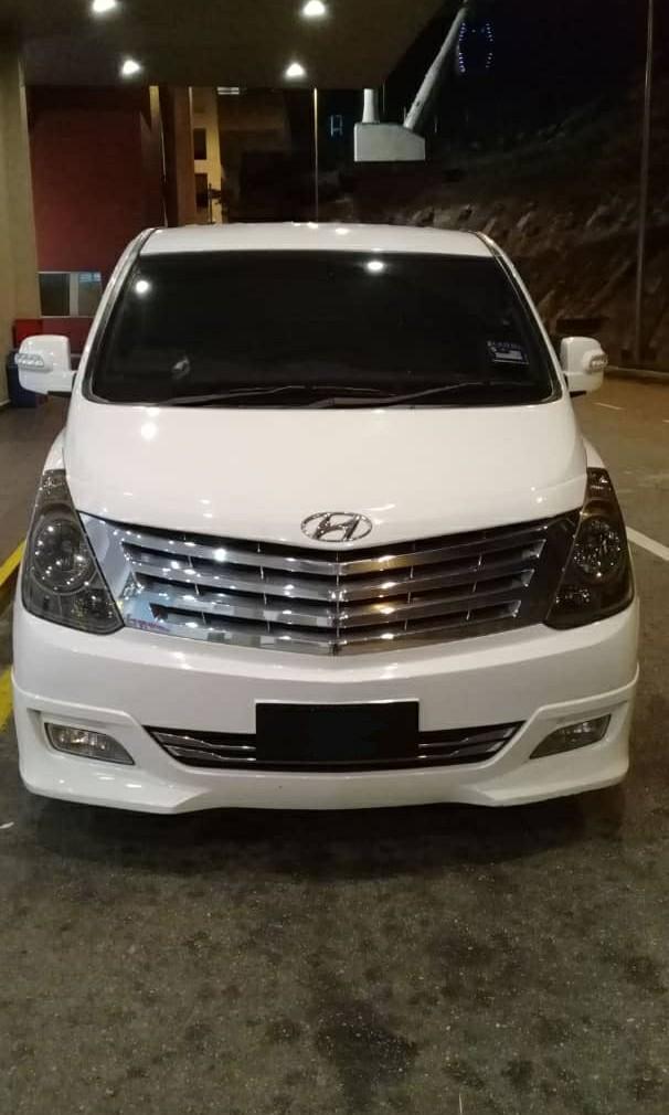 Hyundai starex rental