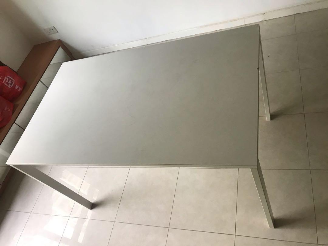 IKEA white table