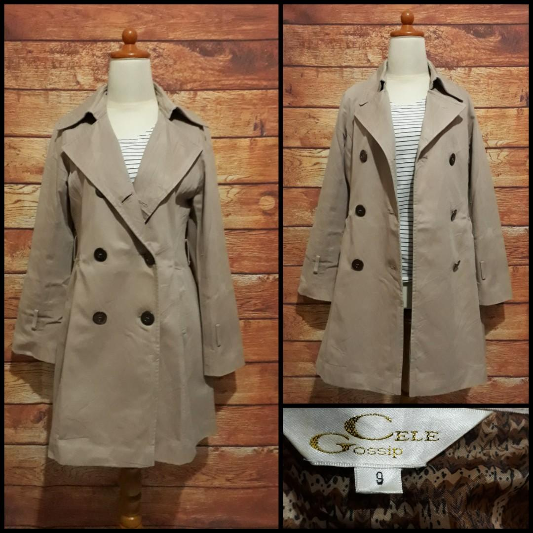 Japan trench coat / blazer coat / overcoat / winter coat / spring coat / autumn coat / long coat / coat panjang / outer panjang  /Outerwear / Jaket luaran / jaket outer /  jaket / baju luar