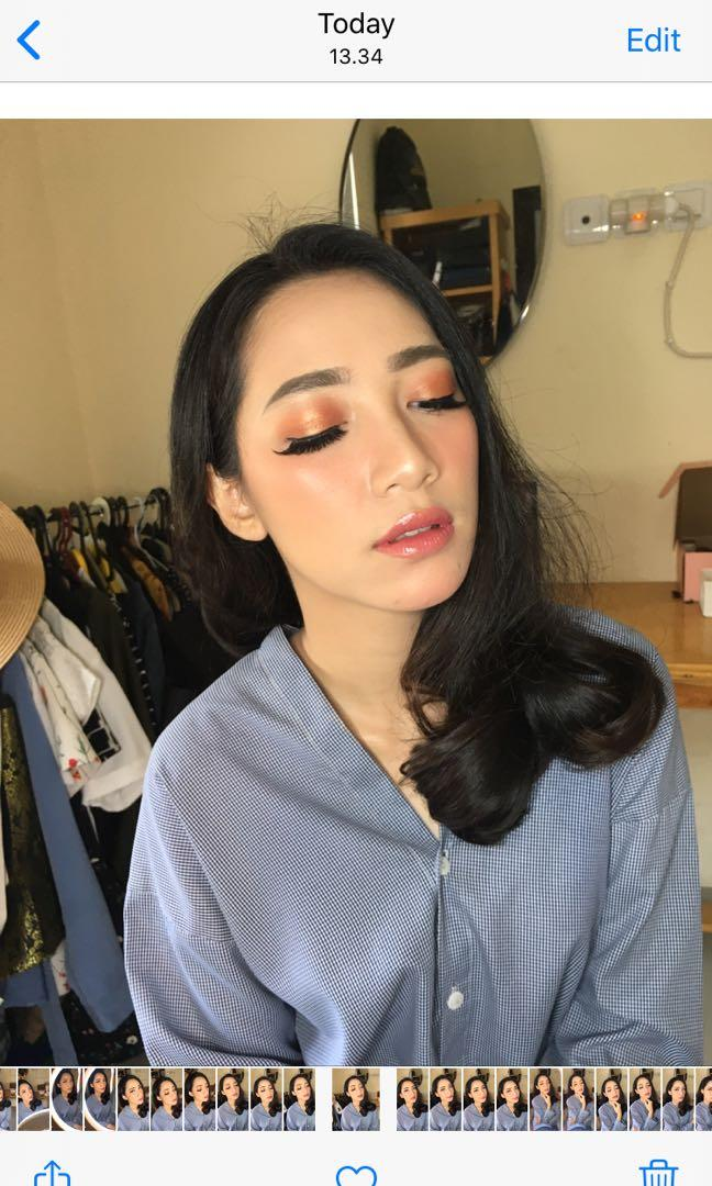 Jasa basic make up for graduation, party, bridesmaids