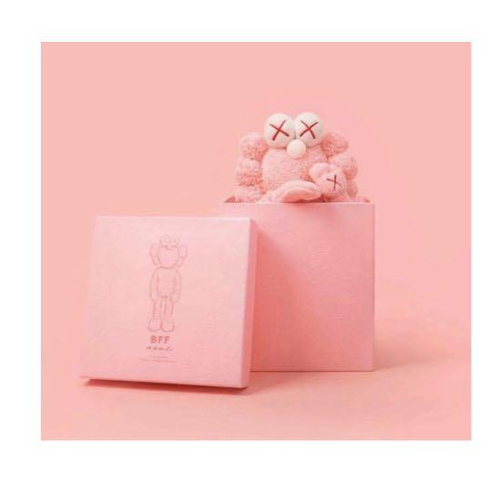 Kaws bff pink plush xx/3000
