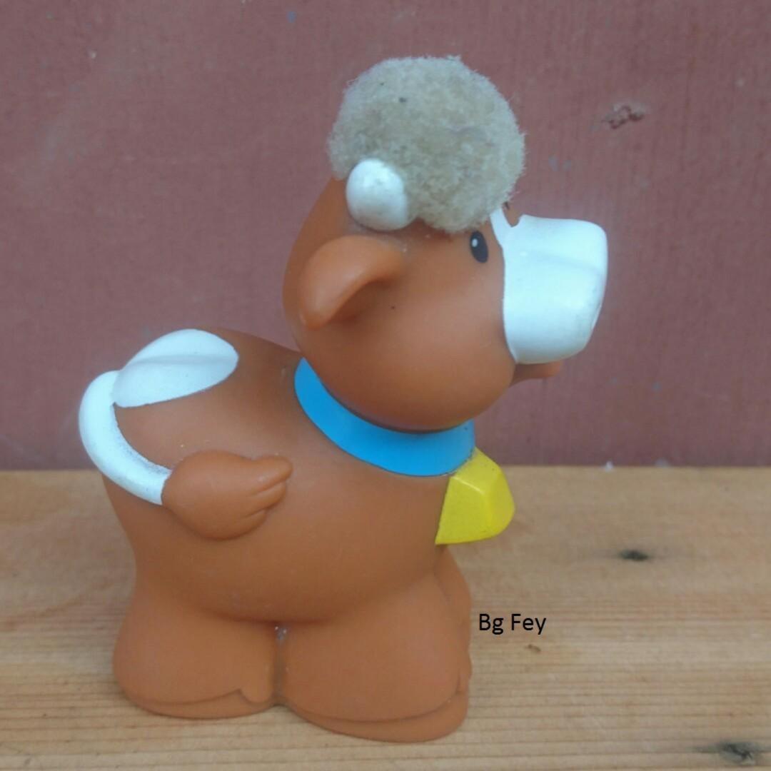 Little People Farm Animal - Cow - Mattel 2005