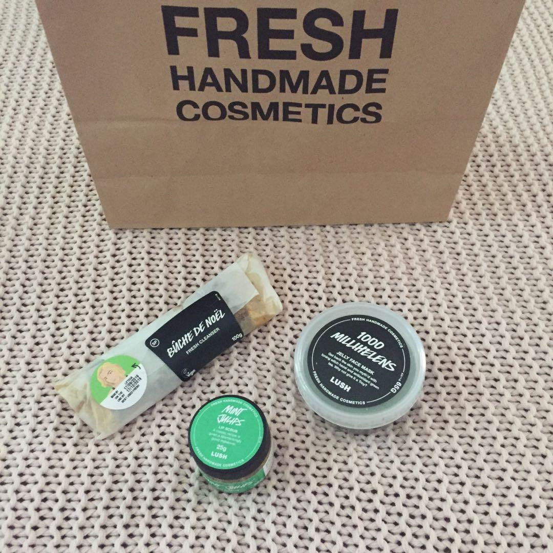 LUSH Facial Bundle