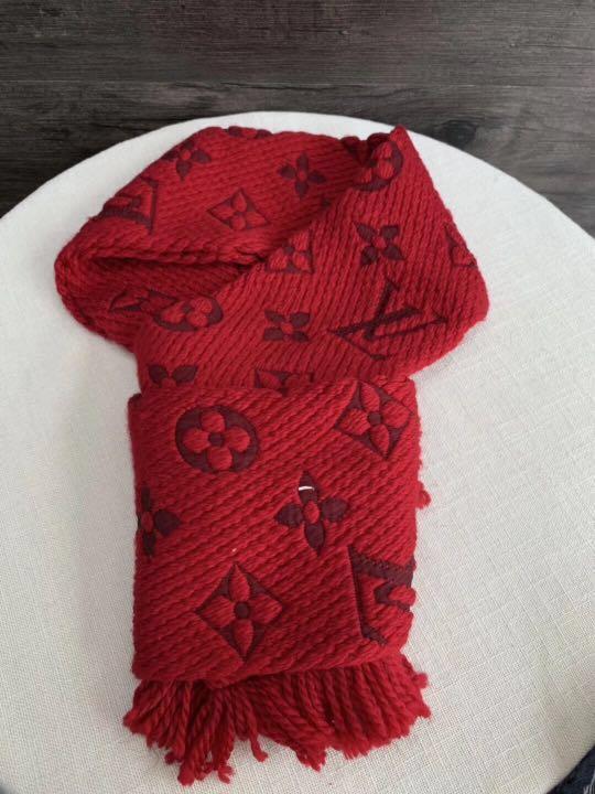 正品LV羊毛圍巾🧣