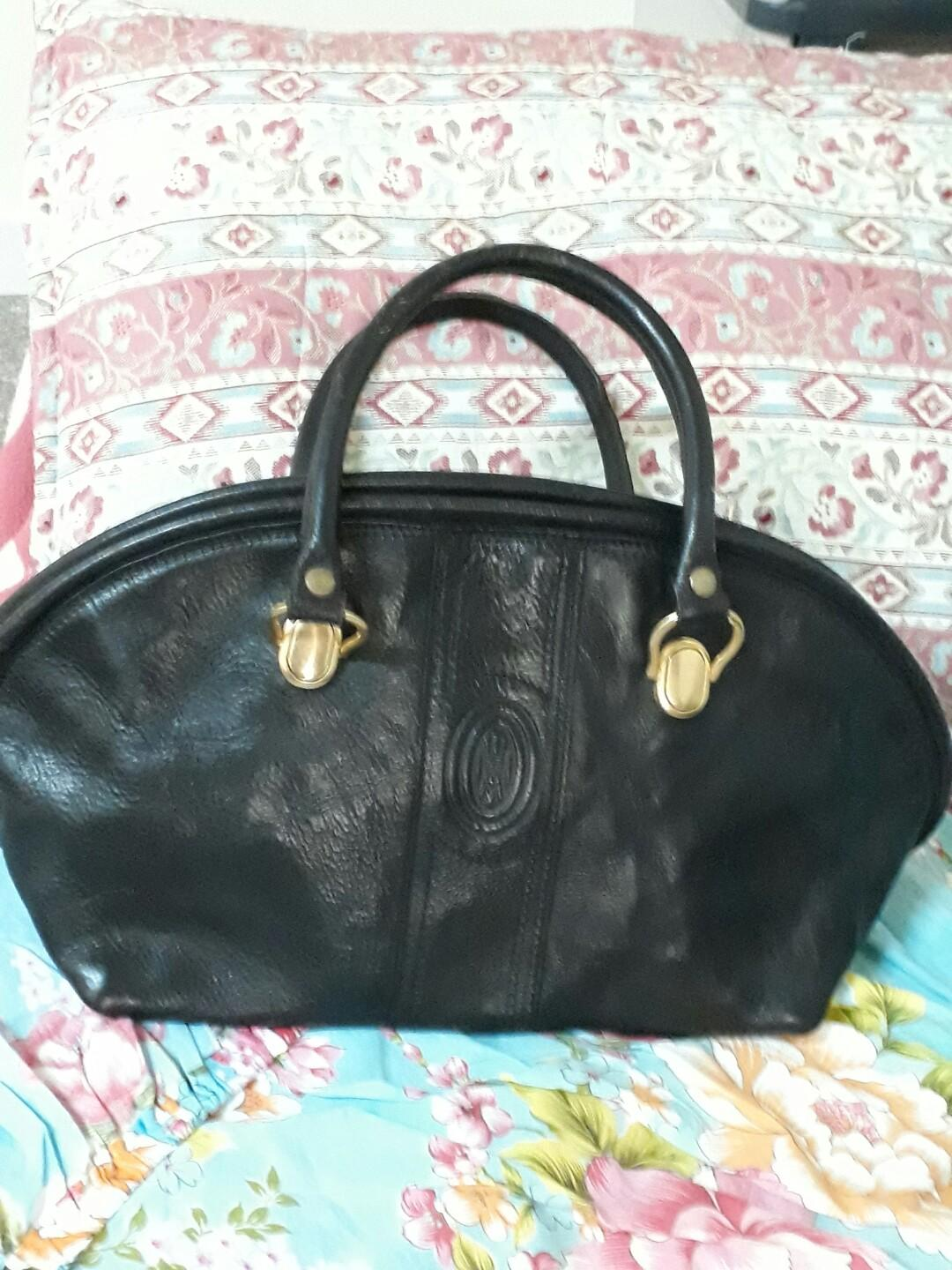 MADE IN ITALY真皮女包43×25  9成新