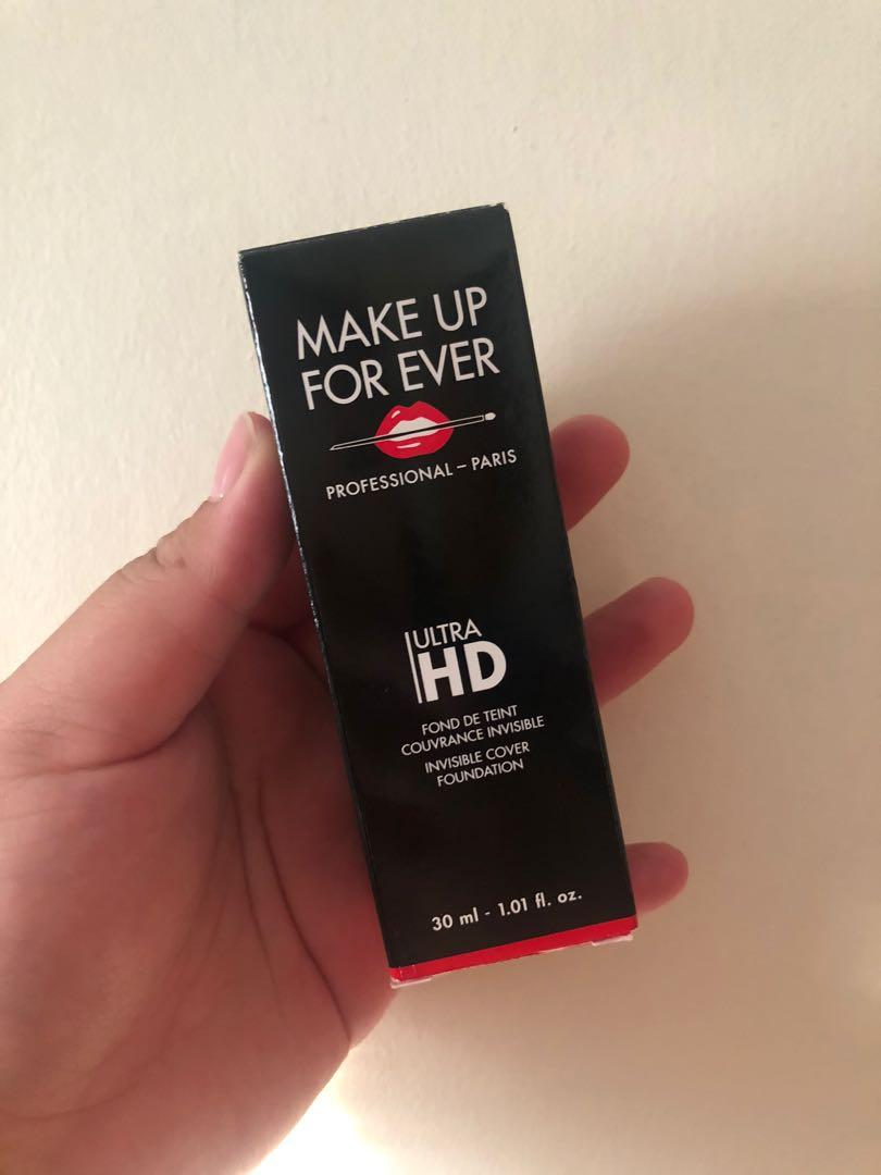 Makeup Forever Ultra HD Foundation (SWATCHED ONCE)