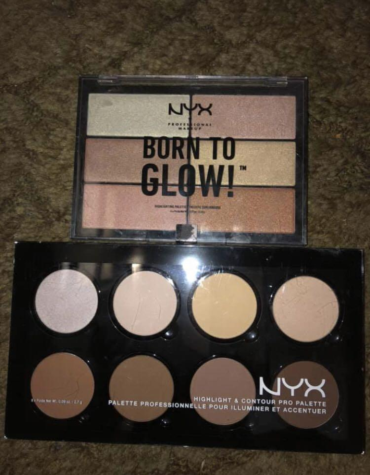 Makeup Kylie, Jeffree Star, ABH, BH, NYX, physicians formula