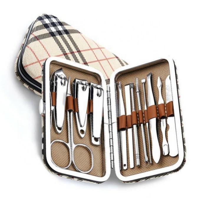 Manicure Pedicure stainless steel nail clipper set