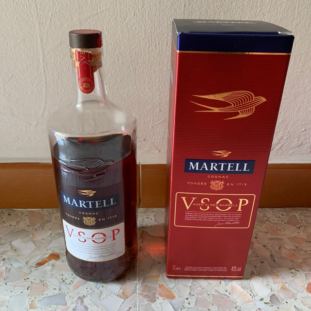 Martell VSOP Cognac Wine Alcohol Champagne