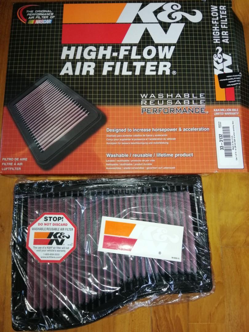 K/&N Filters Luftfilter 33-3132 für MERCEDES-BENZ