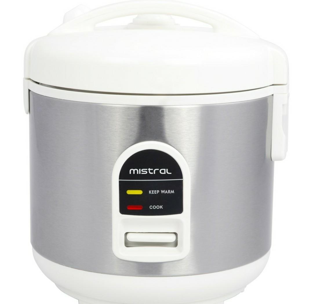Mistral 1L Rice Cooker MRC101