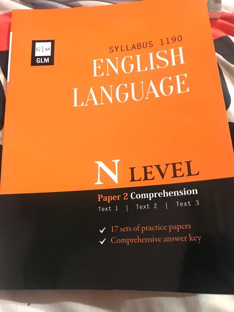 N level english book