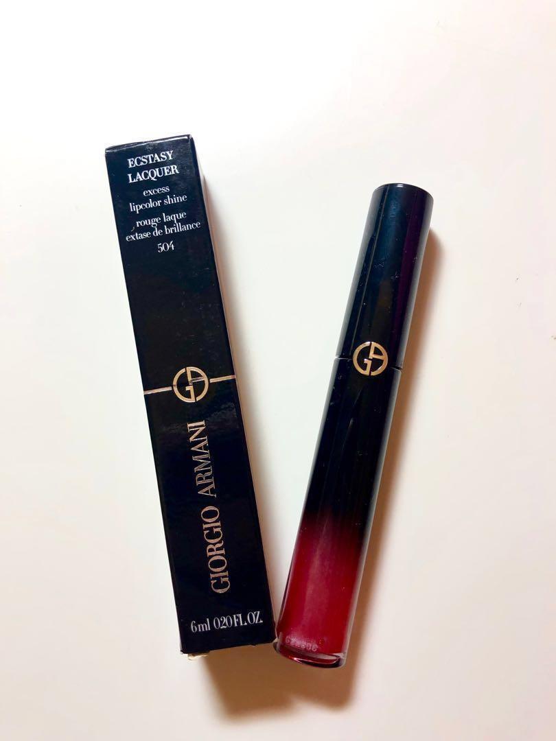 [New!] Giorgio Armani Lip Gloss no.504