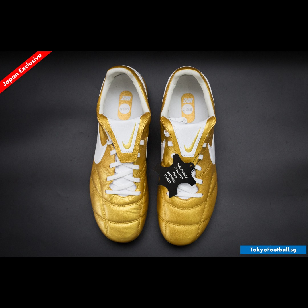 Nike Tiempo Premier II k leather soccer football boots shoes