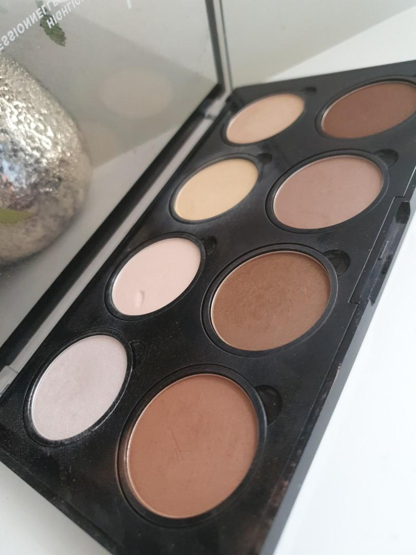 NYX highlight and contour pro palette glow makeup