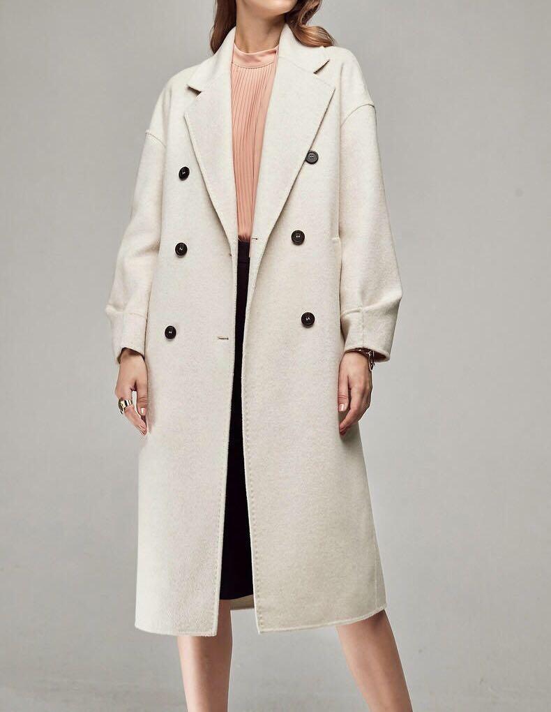 OshareGirl 11 高端線女士雙面羊毛呢大衣外套