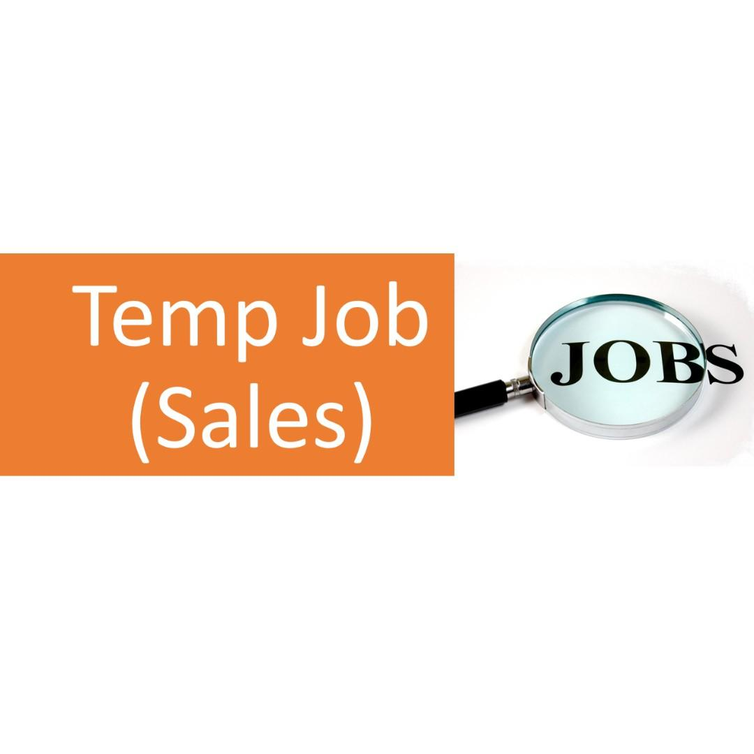 Outdoor Sales Assistants (Temps) for Interior Design Company