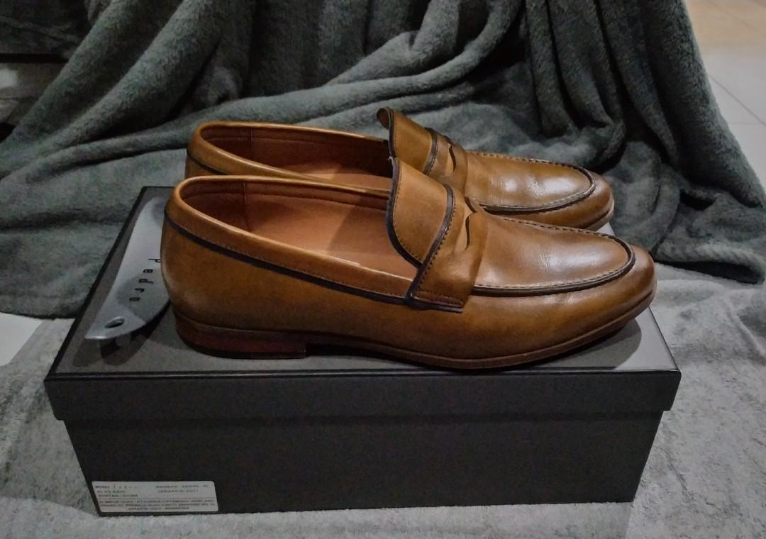 Pedro Shoes Penny Loafer Size 40, 41 cocok (Like new)