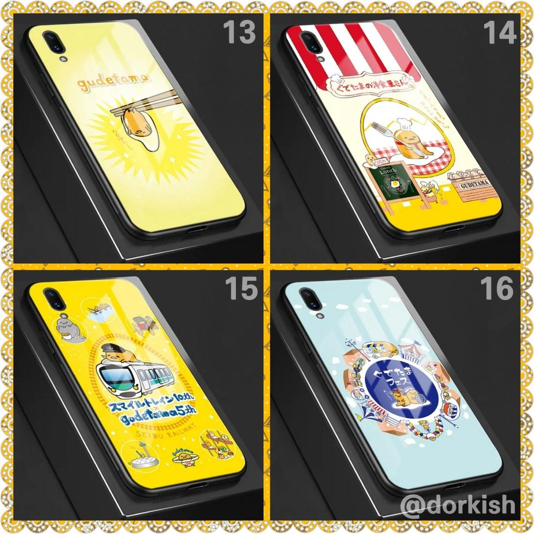 [PO] Sanrio Gudetama Egg Handphone Phone Mobile Cute Hard Back Casing Cover Case for Samsung iPhone Xiaomi Huawei Vivo Oppo