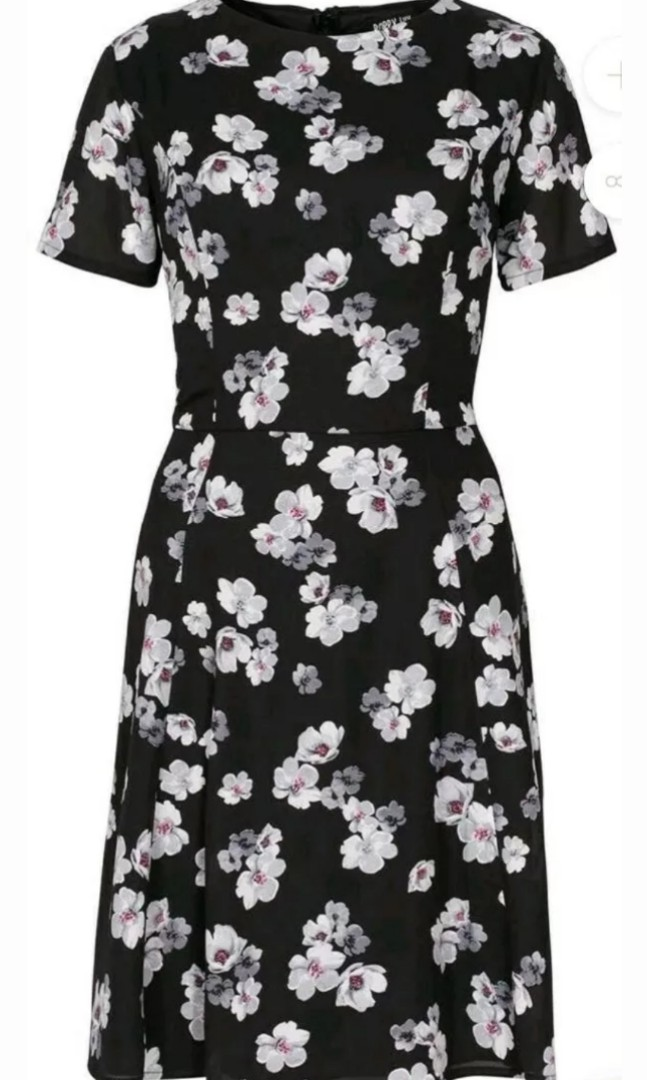 Poppy Lux Floral Dress