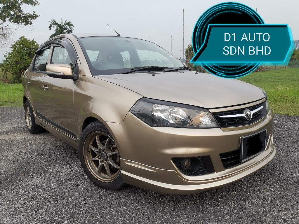 PROTON SAGA 1.3 AT FLX EXECUTIVE,NEW PAINT,NEW TIRE,RAYS RIM,BODYKIT