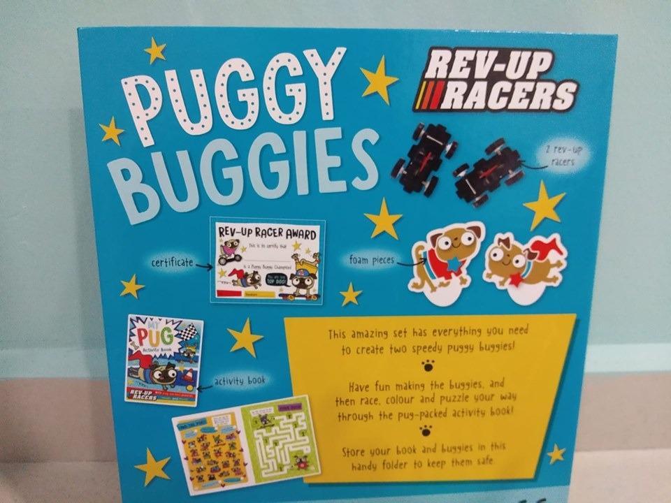 Puggy Buggies activity book