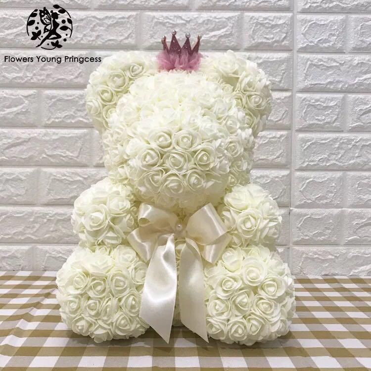 rosesbear 永生花熊 玫瑰花熊 生日禮物 週年禮物 結婚 學生