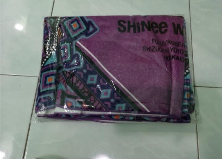 SHINee Onew Towel @ Official Goods JAT 2017 (Purple)