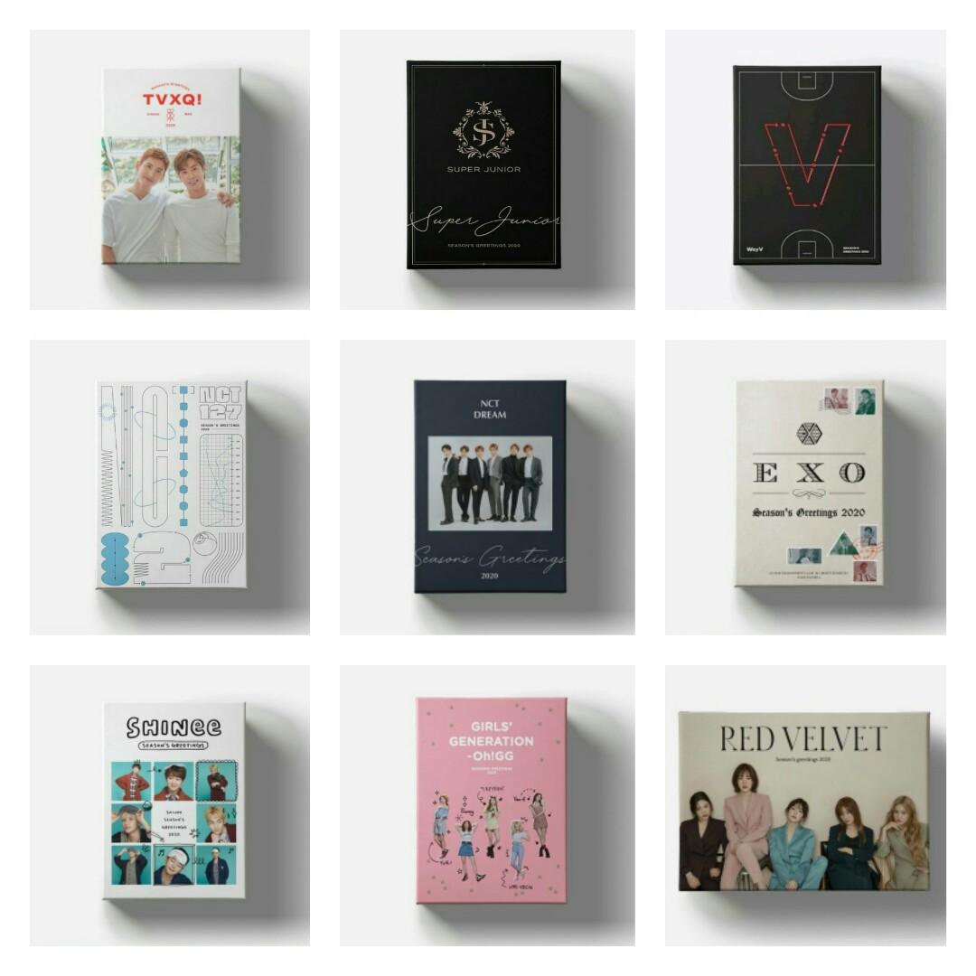 SM ARTIST OFFICIAL SEASON GREETINGS 2020 from 11STREET