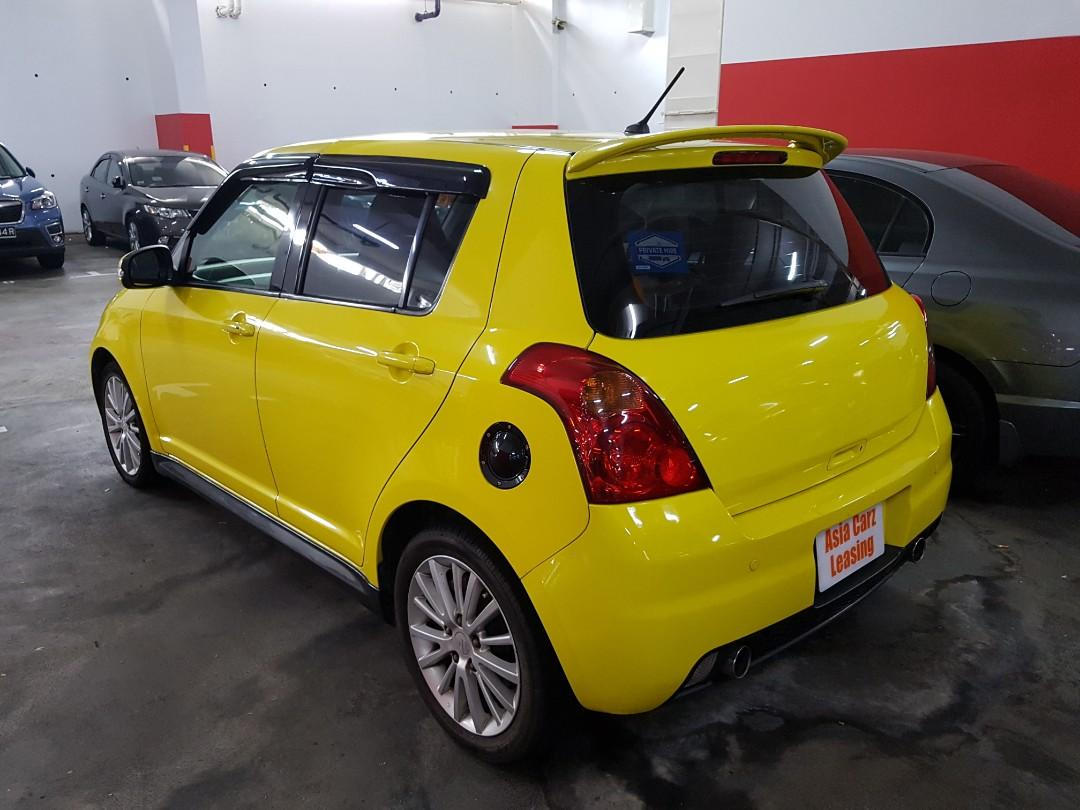 Suzuki Swift Sport for leasing