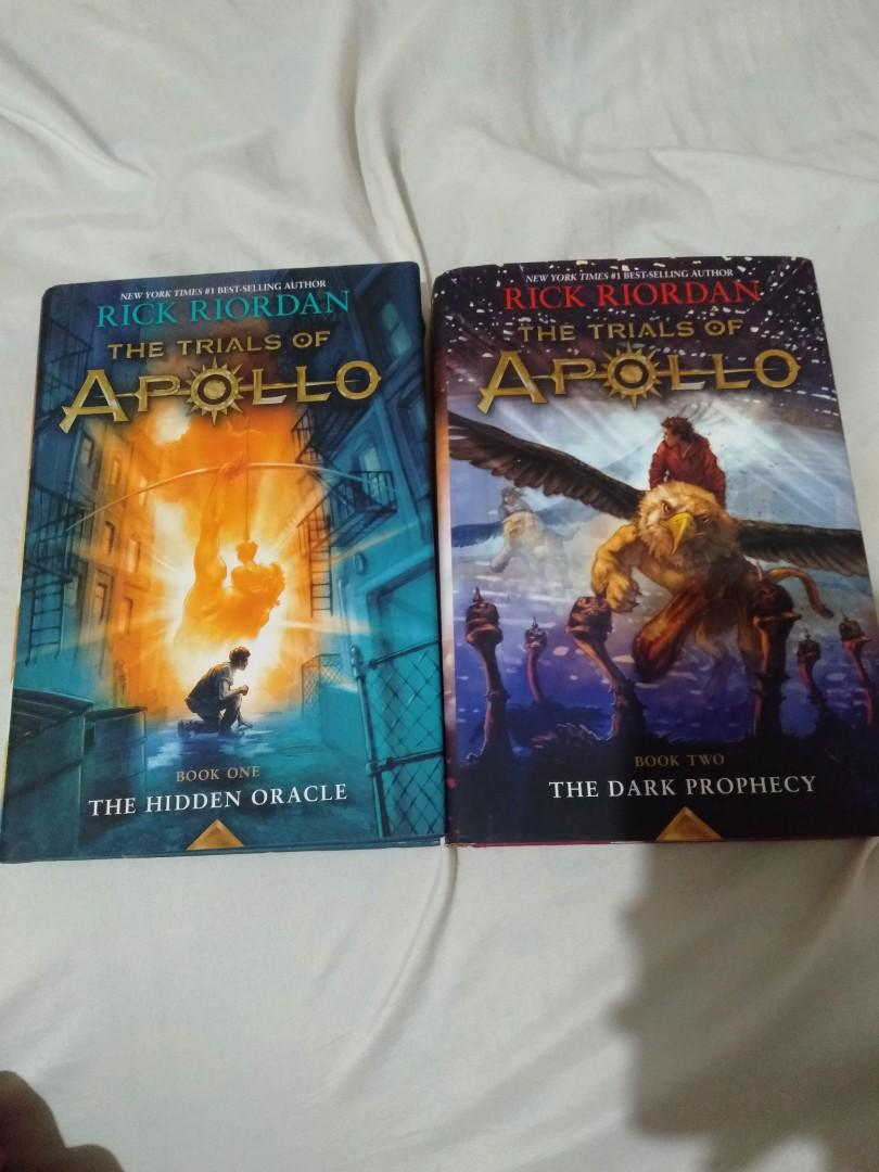 Trails of Apollo: The Hidden Oracle and The Dark Prophecy by Rick Riordan Hard Bound Set