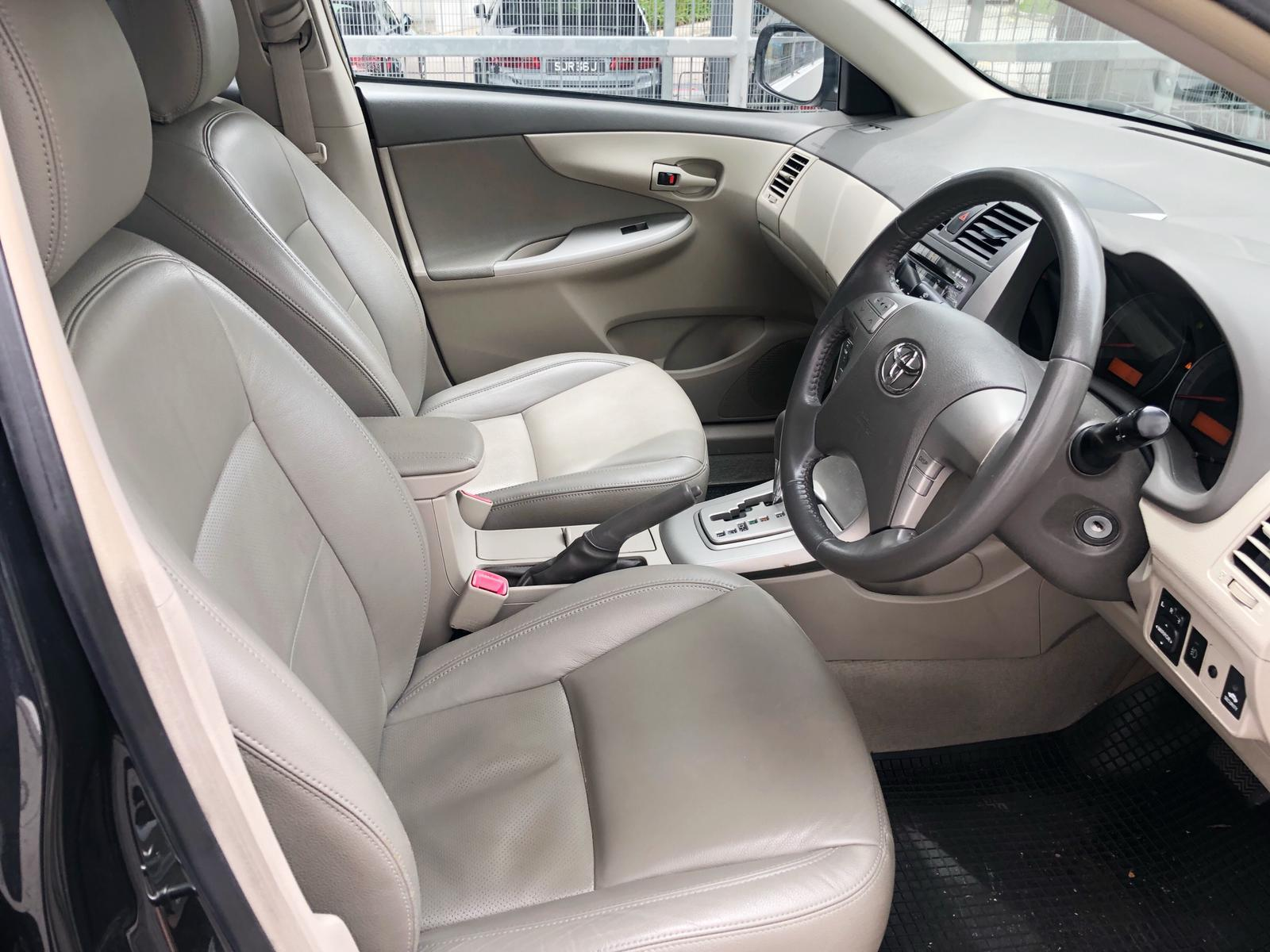 Toyota Altis 1.6a budget cheaper car rental gojek rebate incentive phv ready grab personal use