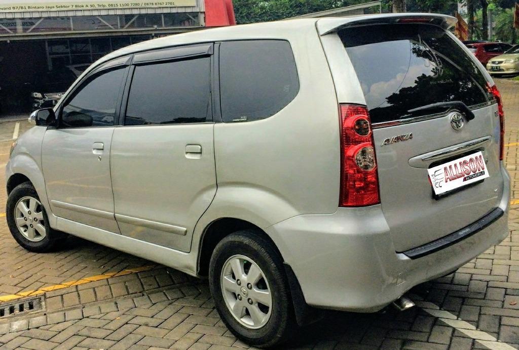 Toyota Avanza G 1.3 AT 2010 Silver DP 15,9 Jt No Pol Genap