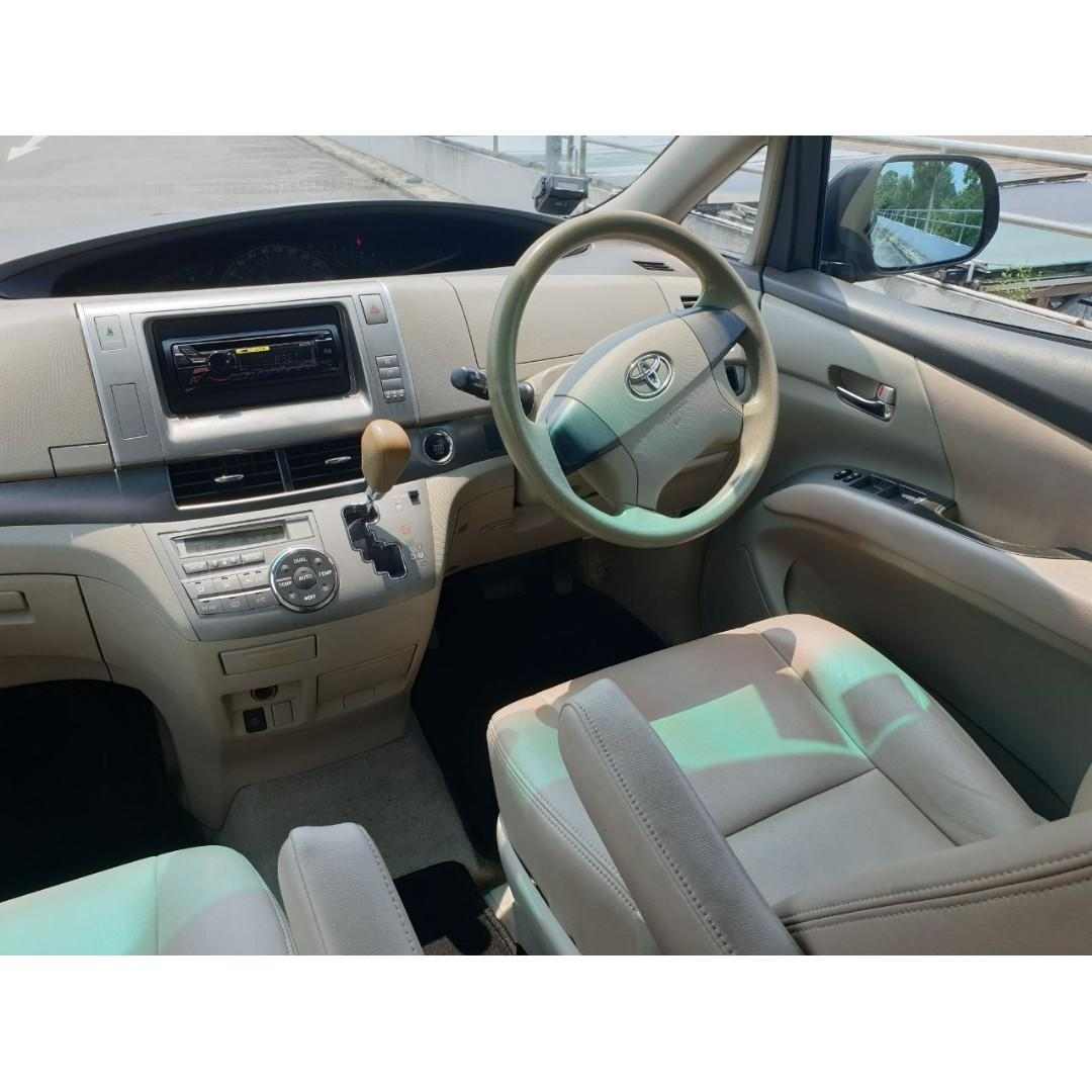 Toyota Estima 2.4A Available for Long Term/Short Term Rental!