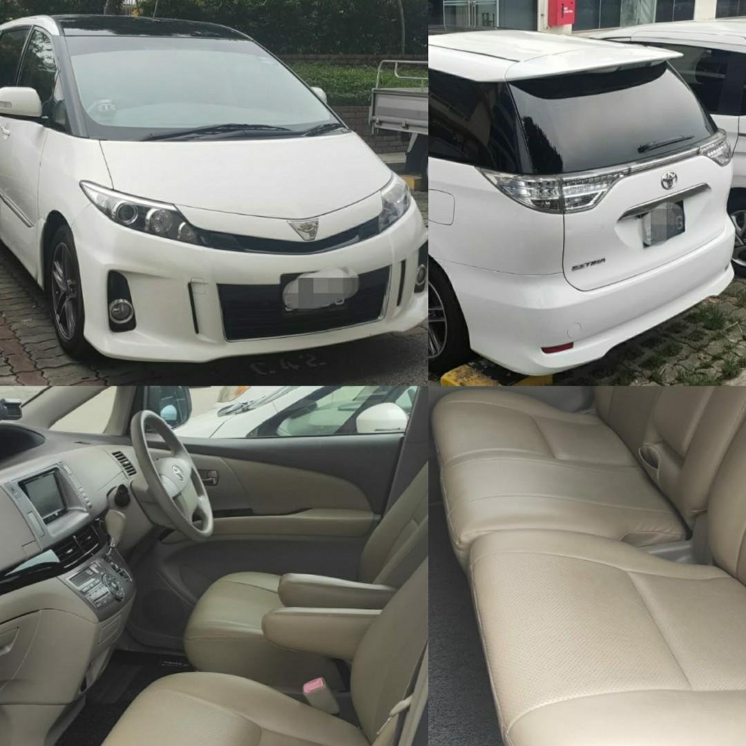 Toyota Estima for Rent Grab/Gojek
