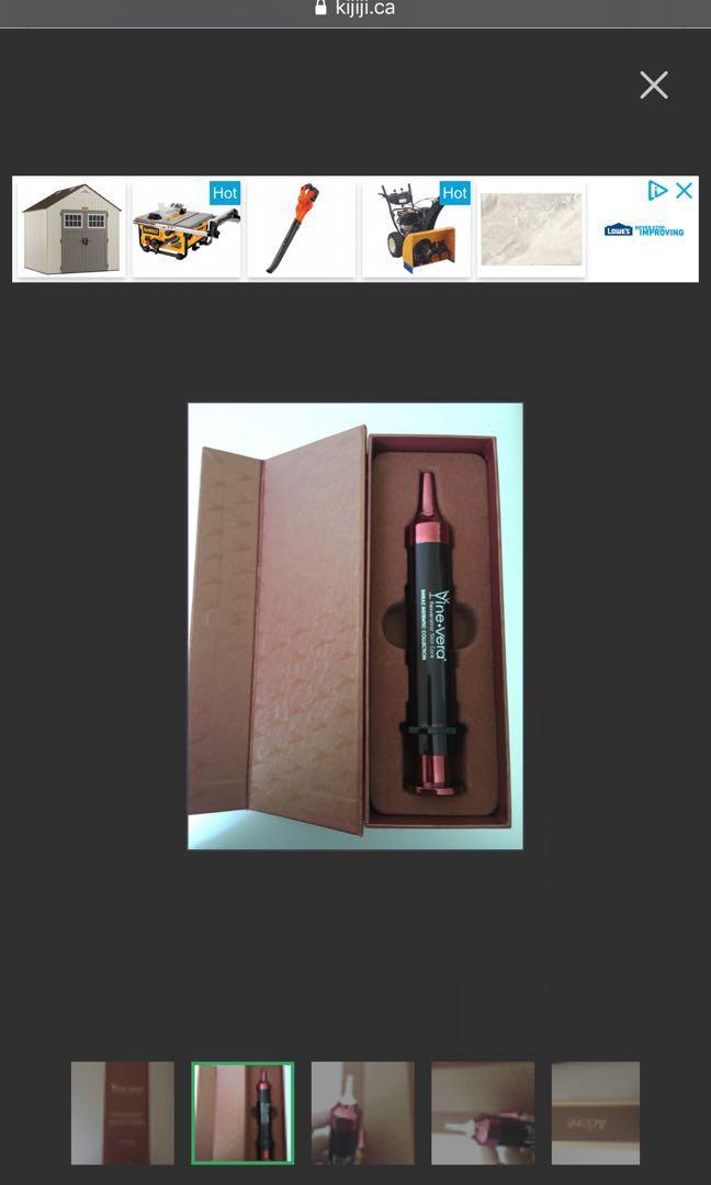 Vine Vera Resveratrol Shiraz Instentic Non-Surgical Syringe Full