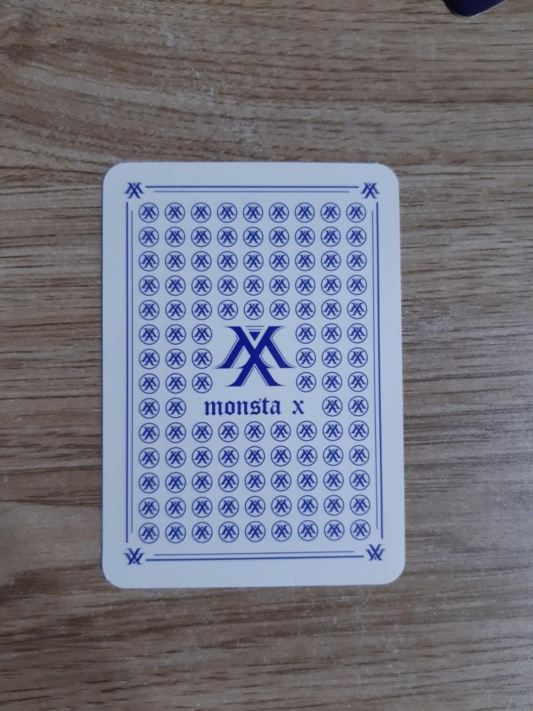 WTS MONSTA X ARE YOU THERE SHOOT OUT OFFICIAL PHOTOCARD PC (MINHYUK, KIHYUN, GROUP)