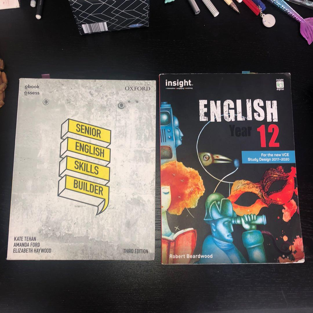 YEAR 11&12 VCE BOOKS ANS TEXTBOOK