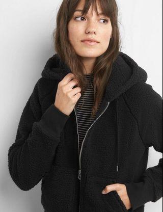 Teddy Sherpa Hoodie Jacket