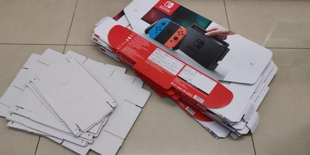 New Nintendo switch boxs with user manual