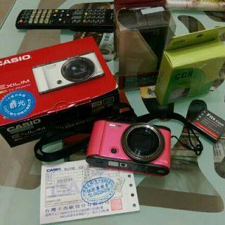 CASIO ZR3500 美顏相機 桃紅色 公司貨 TR EX ZR