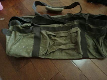 全新 文青帆布袋,內層防水設計